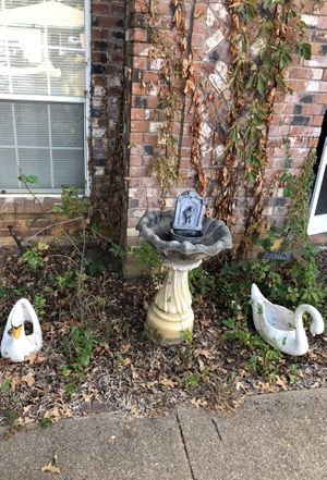 Swans and fountain for Sale in Mansfield, TX