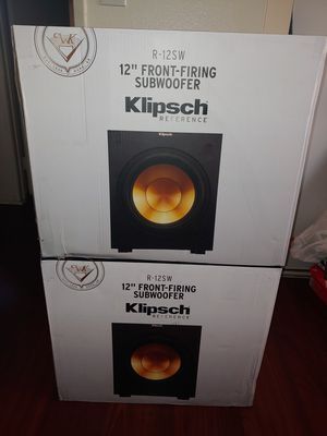 New klipsch R-12SW for Sale in Los Angeles, CA