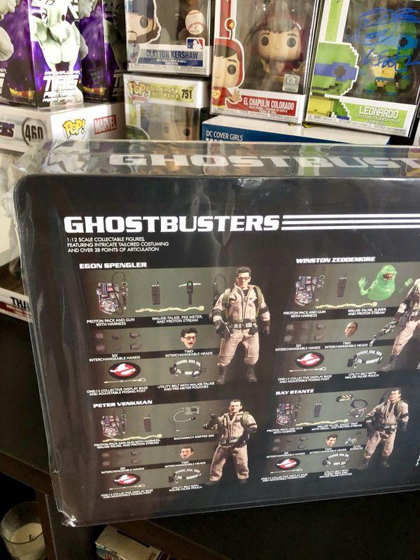 Mezco GhostBusters Exclusive Tin Set Collectible Funko Dorbz Toys Action Figures