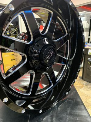 Universal 6 lug gm Chevy or ford 20x10 wheels/rims for Sale in Fort Myers, FL