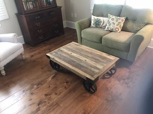 28 X 43 X 14 Industrial Coffee Table for Sale in New Bern, NC