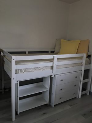 kids loft bed frame for Sale in Manteca, CA