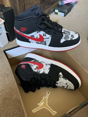 Jordan 1 Mid SE Sz 7Y or 8.5 women for Sale in Los Angeles, CA