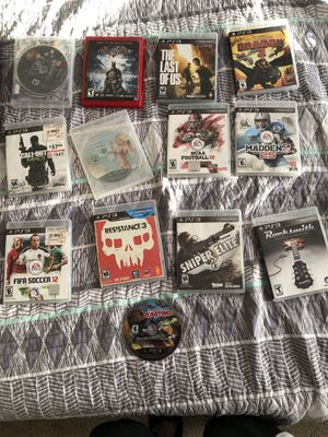 PlayStation 3 GAMES-$50 for Sale in Vancouver, WA