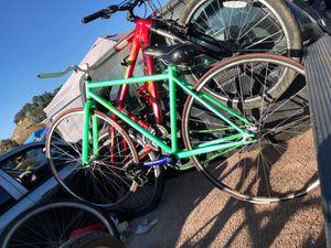 Neon fixie road bike for Sale in Chula Vista, CA