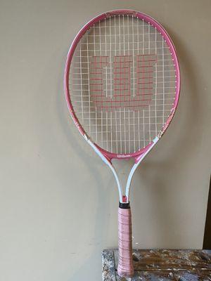 """Wilson girls 25"""" Venus & Serena tennis racket for Sale in Sammamish, WA"""