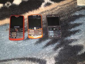 BlackBerry phones Samsung for Sale in West Jordan, UT