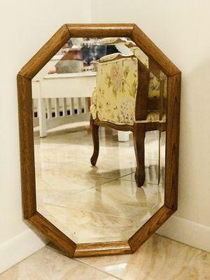 Mid-Century Modern wood mirror for Sale in Deltona, FL