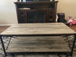 Coffee table and two night stands for Sale in Ontario, CA