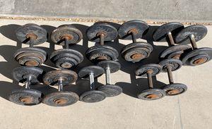 Pro Style Dumbbell Set 10-35 lbs for Sale in Gilbert, AZ