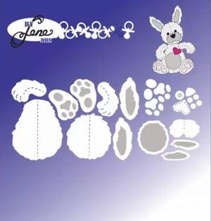 Cute Rabbit Metal Die Cut for Sale in Elizabethton, TN