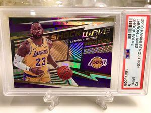 Lebron James Lakers Shock Wave PSA 9 mint for Sale in San Dimas, CA