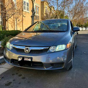 Honda Civic 2011 GX Good Condition Grey Nice Shape for Sale in San Jose, CA