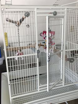 Large Bird Cage With Cover And Toys For Sale! for Sale in Hillsboro,  OR
