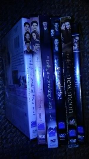 Twilight set dvds for Sale in Dunkirk, NY