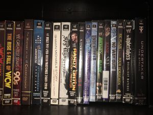 WWE DVD Collection for Sale in Chesapeake, VA