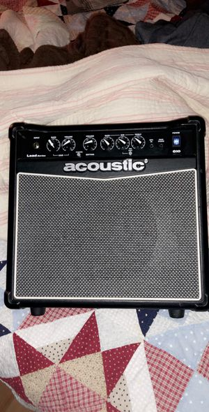 Acoustic G10 Electric Guitar Amp for Sale in Frederick, MD