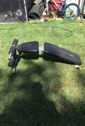 CAP STRENGTH adjustable bench for Sale in DeSoto, TX