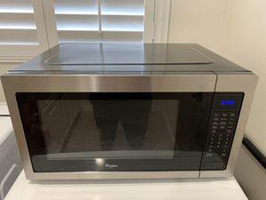 Whirlpool microwave for Sale in La Verne, CA