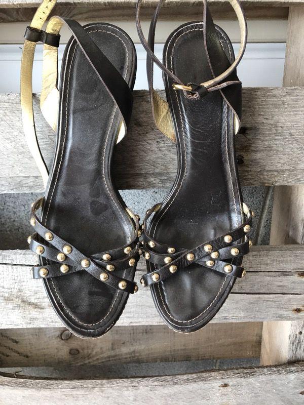 Authentic Coach heels—Size 8
