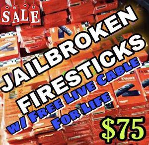Jailbr0ken FULLY Unl0cked FIRESTICKS for Sale in Houston, TX