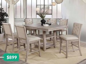 Table sets great deals financing available for Sale in Beaumont, CA