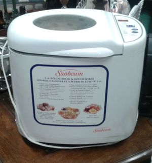 Sunbeam Bread and Dough Maker for Sale in Port Orchard, WA