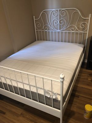 Full size Mattress and bed frame for Sale in Morgantown, WV