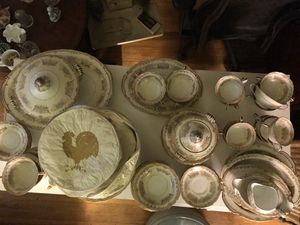 80 piece China set antique collection for Sale in St. Louis, MO