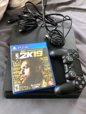 PS4 SLIM 1TB with 2K19 for 240.00 for Sale in College Park, GA