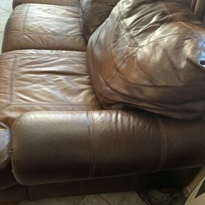 Three Seating Brown Couch for Sale in San Diego, CA