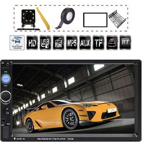 """7"""" Double Din Touch Screen Car Stereo System for Sale in Arcadia, CA"""