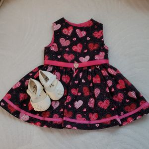 AMERICAN GIRL DOLL VALENTINE'S DRESS AND SHOES for Sale in Port St. Lucie, FL