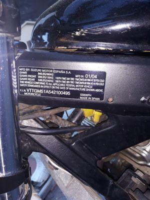 2004 Suzuki motorcycle only 16k for Sale in Ocoee, FL