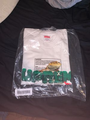 Supreme lizard Tee white for Sale in Canby, OR
