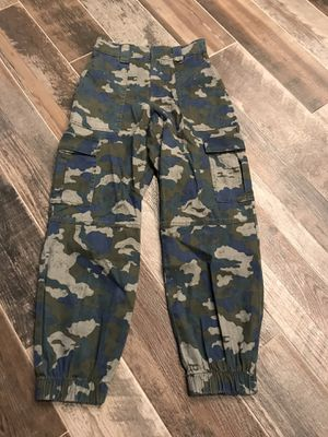 Camouflage camo white fable joggers pants women's juniors XS for Sale in Pflugerville, TX