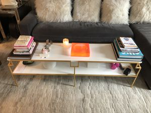 White Two Tier Coffee Table for Sale in New York, NY