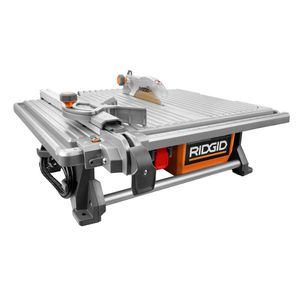 Ridgid 6.5 Amp Corded 7 in. Table Top Wet Tile Saw for Sale in Oswego, IL