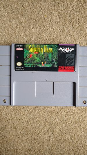 Secret of Mana Super Nintendo (SNES) Authentic for Sale in Lynnwood, WA