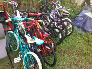 "10 BIKES AS IS MUST TAKE ALL 16""/20"" KIDS BIKES for Sale in Tampa, FL"