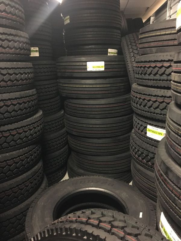 Haida Semi Truck Tires Truck Tires -Size 295/ 75R22.5 Steer & Drive