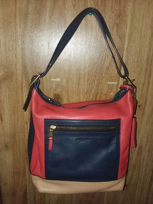 Coach purse all leather for Sale in Gaston, SC