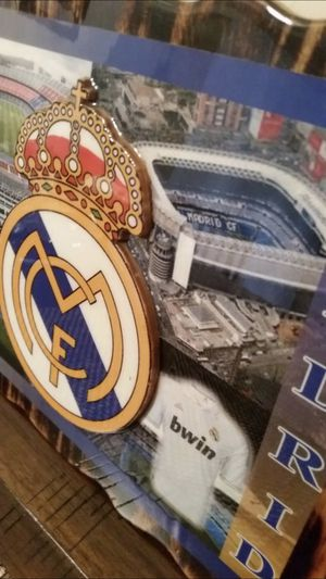 Real Madrid souvenir (framed crest) for Sale in Springfield, VA