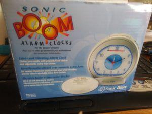 Multi Light Alarm Clock with Wake up Alarm Shaker! for Sale in Decatur, GA