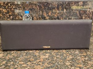 KLIPSCH KV2 CENTER REFERENCE SPEAKER Black Satin for Sale in North Las Vegas, NV