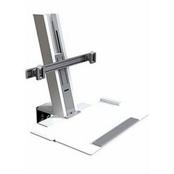 HUMANSCALE QUICKSTAND HEAVY MOUNT WITH LARGE PLATFORM AND CROSSBAR for Sale in Brooklyn, New York