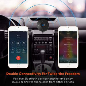 TaoTronics Bluetooth Car Kit, Bluetooth Receiver, Bluetooth 4.2 Hands-Free Audio Adapter for Sale in Fontana, CA