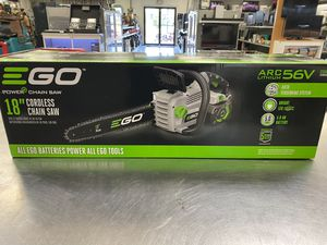 Ego Cordless Electric Chainsaw Charger Included for Sale in Orlando, FL