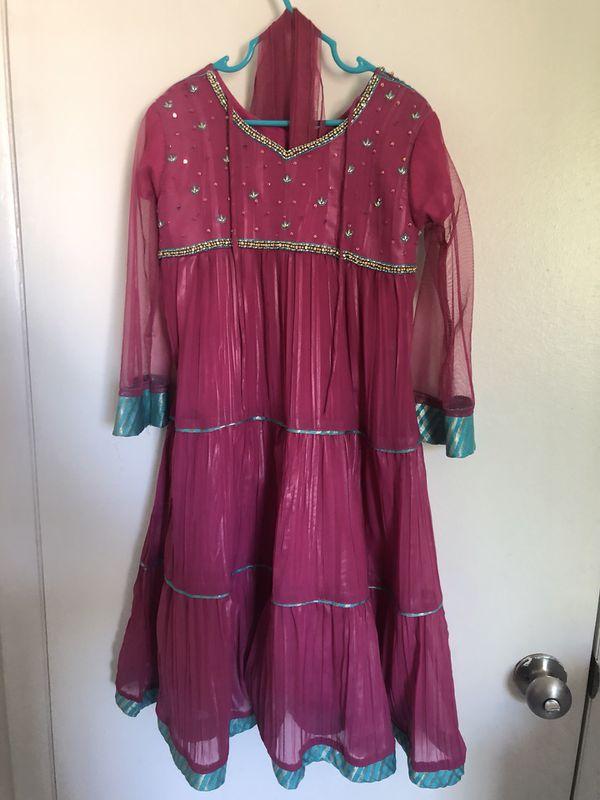 Girls Indian/pakistani wear dress