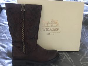 Coach Boots - Brown - SZ 8.5 for Sale in Fort Washington, MD